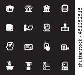 school white icons vector files