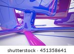 abstract interior of  ice cream ... | Shutterstock . vector #451358641