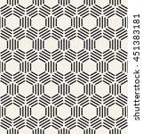 vector seamless pattern. modern ... | Shutterstock .eps vector #451383181