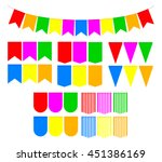 set flags for holiday... | Shutterstock .eps vector #451386169