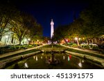 fountain and the washington...   Shutterstock . vector #451391575