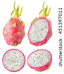 Isolated Dragonfruit....