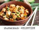 Fried Tofu With Sesame Seeds...