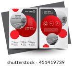 flyer brochure design  business ... | Shutterstock .eps vector #451419739