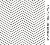 seamless triangle waves vector... | Shutterstock .eps vector #451427479