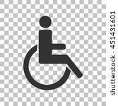 Disabled Sign Illustration....