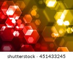 abstract colorful background... | Shutterstock . vector #451433245