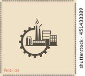 industrial icon | Shutterstock .eps vector #451433389