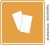 graham crackers sign | Shutterstock .eps vector #451455991
