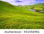 Landscape Scenery Of Green...