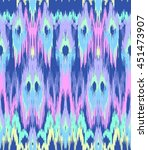 abstract ikat texture  ... | Shutterstock .eps vector #451473907