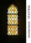 Colored Glass  Stained Window...
