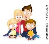 cartoon vector illustration of... | Shutterstock .eps vector #451480075