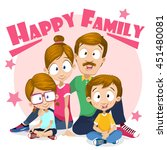 cartoon vector illustration of... | Shutterstock .eps vector #451480081