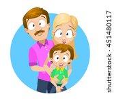 cartoon vector illustration of... | Shutterstock .eps vector #451480117