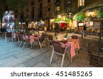 Night View Of Old Street In...
