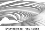 abstract black and white waves... | Shutterstock . vector #45148555