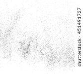 black grainy texture isolated... | Shutterstock .eps vector #451491727