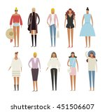 people vector illustration | Shutterstock .eps vector #451506607