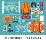 travel tourism vector... | Shutterstock .eps vector #451514161