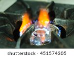 Gas Stove In Home Gas Stove In...