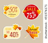 set of isolated stickers with...   Shutterstock .eps vector #451576171