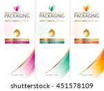 shampoo bottle template design... | Shutterstock .eps vector #451578109