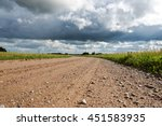 Gravel Road In Latvian...