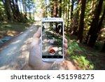 santa cruz  california   july...   Shutterstock . vector #451598275