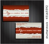 business card set 30 | Shutterstock .eps vector #45165592