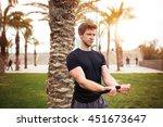 full of determination | Shutterstock . vector #451673647