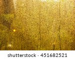 raindrop on glass | Shutterstock . vector #451682521