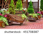 Decorative Patio At The...