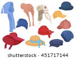 Different Kind Of Cartoon Hats...