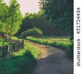 Rural Sweden Summer Landscape...
