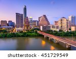 Austin  Texas  Usa Downtown...