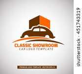 classic car logo template. for... | Shutterstock .eps vector #451743319