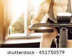 sun light in retro window and... | Shutterstock . vector #451750579