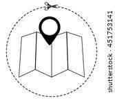 map vector icon