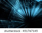 digital technology abstract... | Shutterstock . vector #451767145