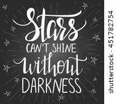 modern lettering inspirational... | Shutterstock .eps vector #451782754