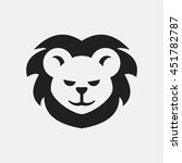 lion icon illustration isolated ...   Shutterstock .eps vector #451782787