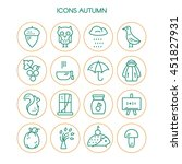 Big Collection Of Linear Icons...
