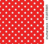 seamless pattern of stars.... | Shutterstock .eps vector #451855885