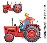 Illustration Of A Farmer...