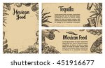 mexican traditional food... | Shutterstock .eps vector #451916677
