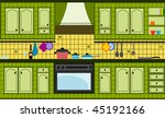 kitchen | Shutterstock .eps vector #45192166