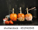 Candy Apples. Traditional Kids...