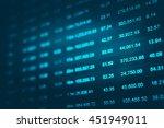 data analyzing in forex market...   Shutterstock . vector #451949011