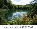krka  national park in croatia   Shutterstock . vector #451962661